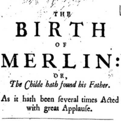 Group logo of The Birth of Merlin Reading Group
