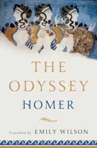 Cover image of Emily Wilson's translation of The Odyssey
