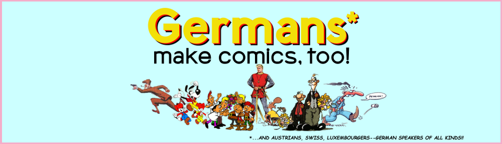 Germans Make Comics, Too!