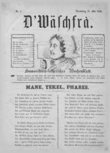 D'Wäschfra, first issue.