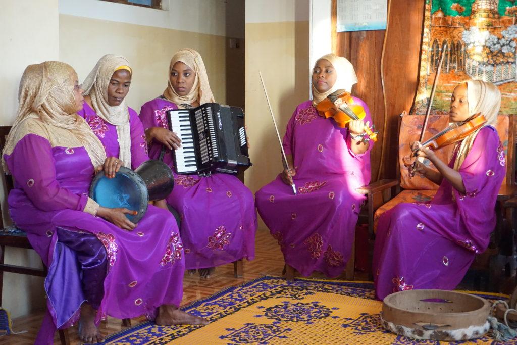 Tausi Women's Taarab, From African Popular Music trip to Tanzania/Znz 2016