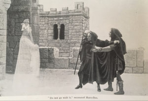 Shakespeare's Hamlet, The Story of the Play Concisely Told with 55 Illustrations from the Cinematograph Film (1913)