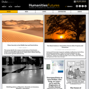 Screen shot from Papers page of Humanities Futures site at https://humanitiesfutures.org/papers