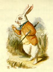 John Tenniel, White Rabbit, 1865