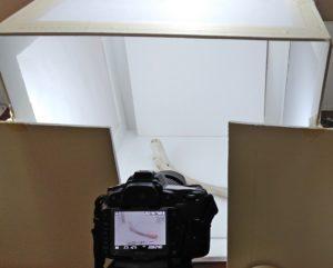 Tomas fotográficas utilizando una caja de luz.