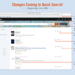 Upgrades to Library Quick Search