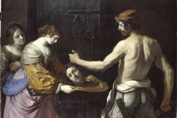 Salome with the head of John the Baptist, Guercino, 1637