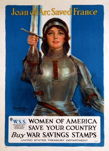 It encourages American women to buy War Savings Stamps. Aimed to both finance the U.S war effort and instil patriotism, the stamps were available in issues of 10 cents and 25 cents.