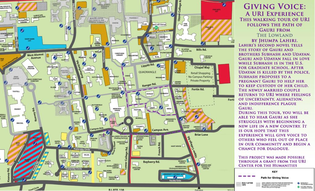 uri map of campus Giving Voice Uri And Kolkata Experiences uri map of campus