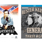 Four DVD covers of The General