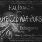 Title slide for The Old War-Horse