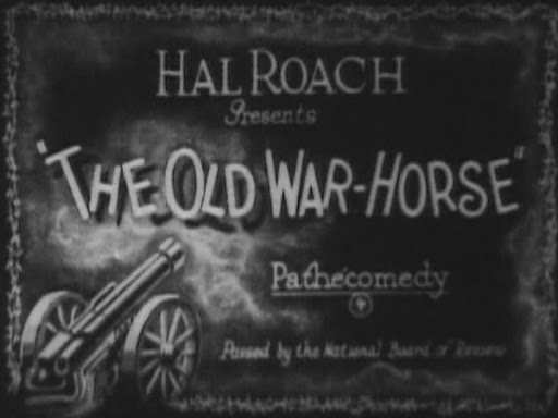 Title slide for The Old War-Horse