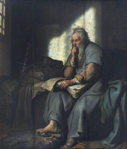 Rembrandt - St Paul in prison