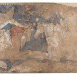 Mural Painting: Rustemiada. The Blue Hall