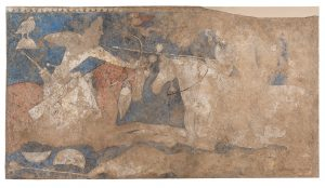 Mural Painting Hermitage Museum: Rustemiada. The Blue Hall (Getty Images) https://www.gettyimages.it/detail/fotografie-di-cronaca/sogdia-pre-islamic-central-asia-mural-painting-fotografie-di-cronaca/625436274