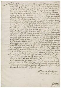 Donne Letter