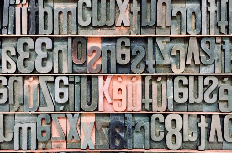 type for a press