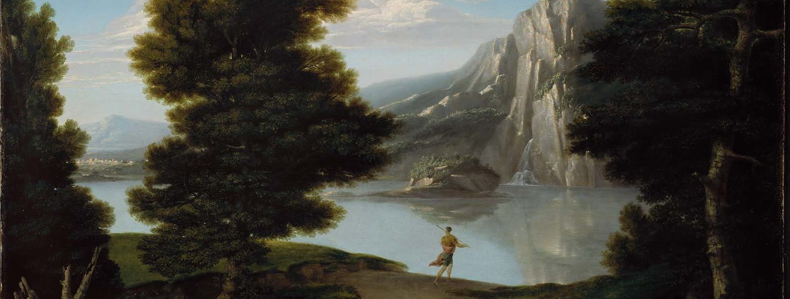 Washington Allston, Landscape with Lake (1804)