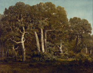 Theodore Rousseau, The Great Oaks of Old Bas Breau