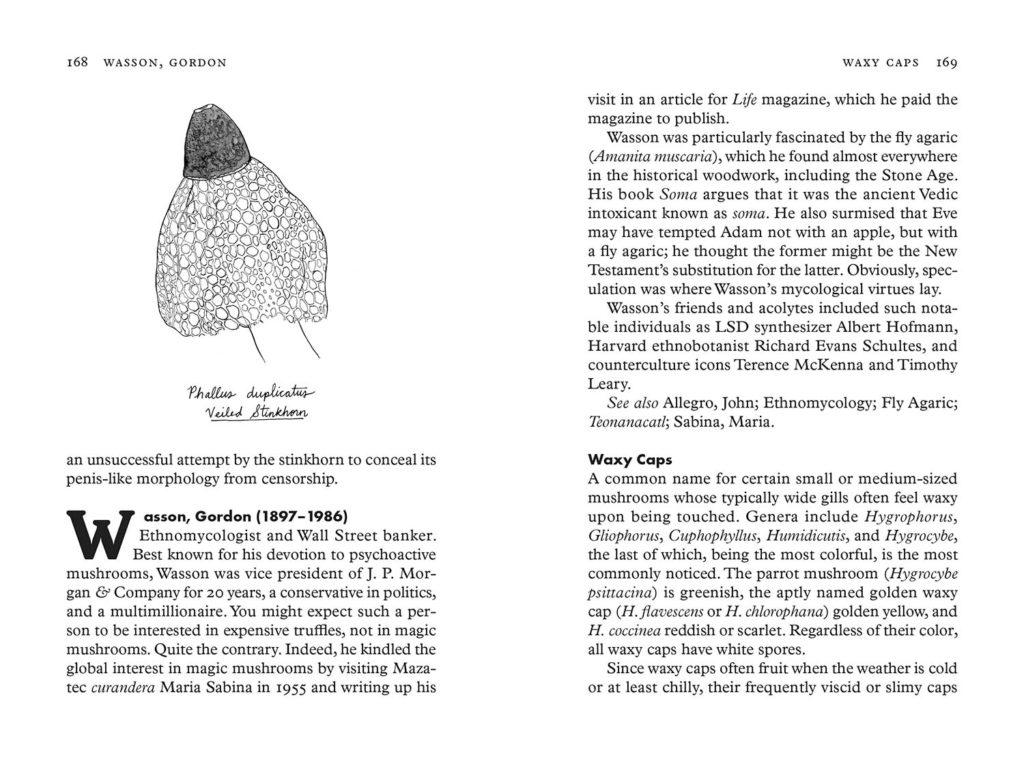 sample spread from Fungipedia