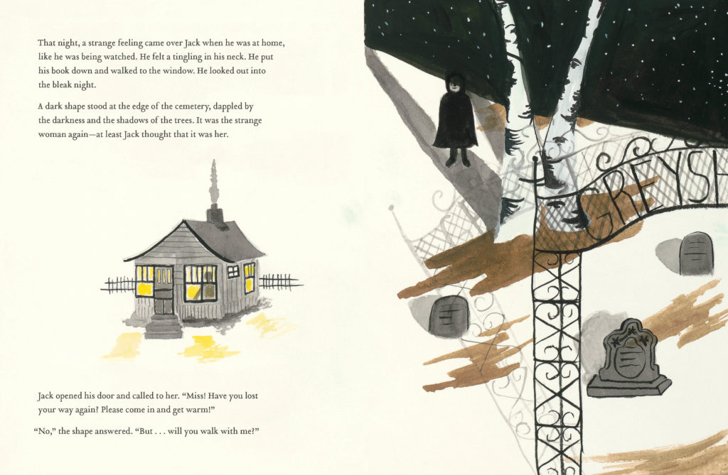 sample spread for Jack and the Ghost 2