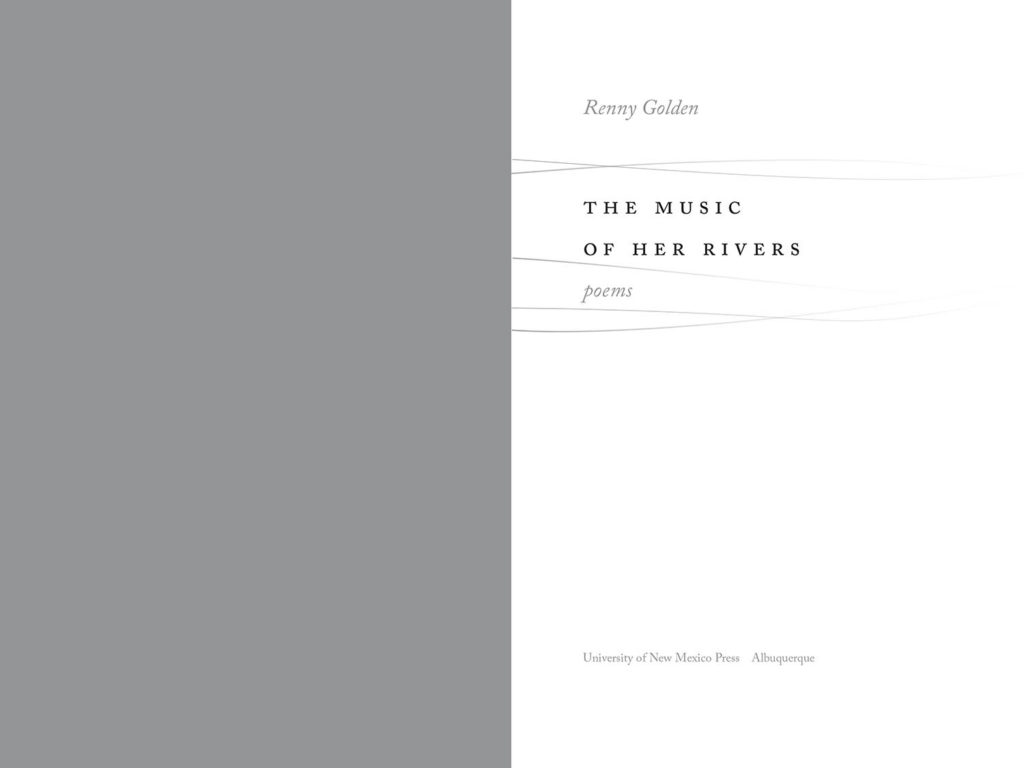 title spread of The Music of Her Rivers