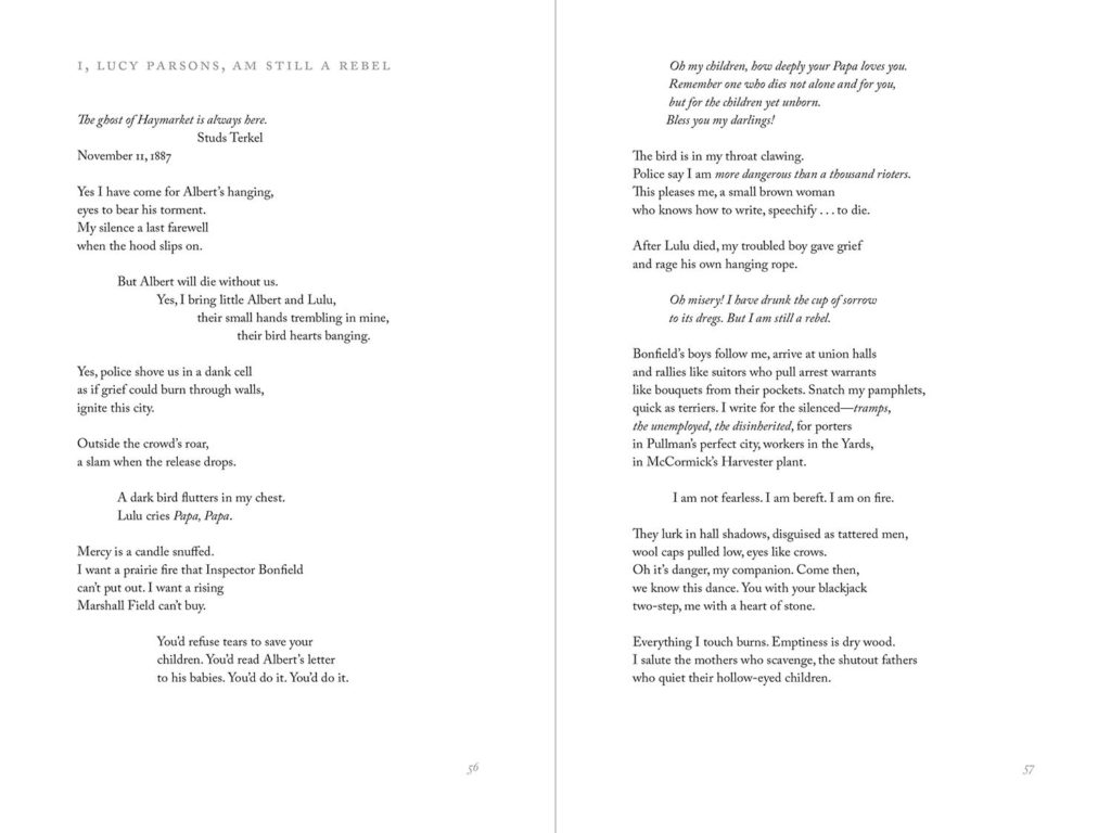 sample spread of The Music of Her Rivers
