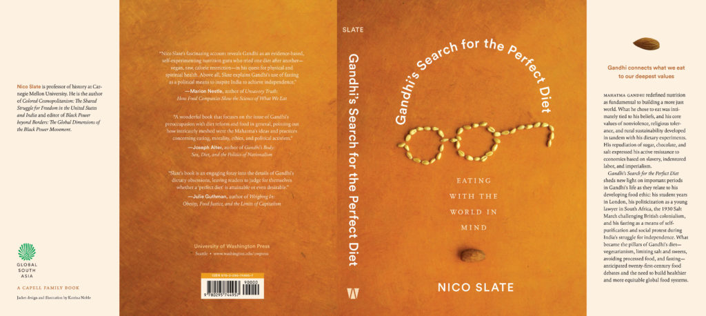 Jacket of Ghandi's Search