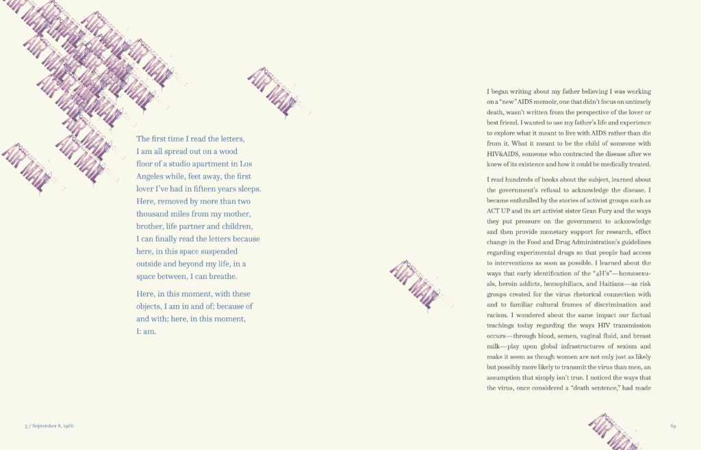 sample spread from These are Love(d) Letters 2
