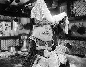 1933 movie - Alice in Wonderland - Duchess played by Alison Skipworth