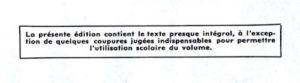 le neveu de Rameau - Diderot - Nouveaux Classiques Larousse - notice