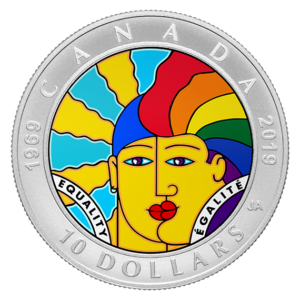 joe average design - equality 10 dollar coin - canada