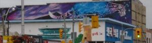 Street art - 677 Bloor street west - toronto - jose gabriel (Kismet)