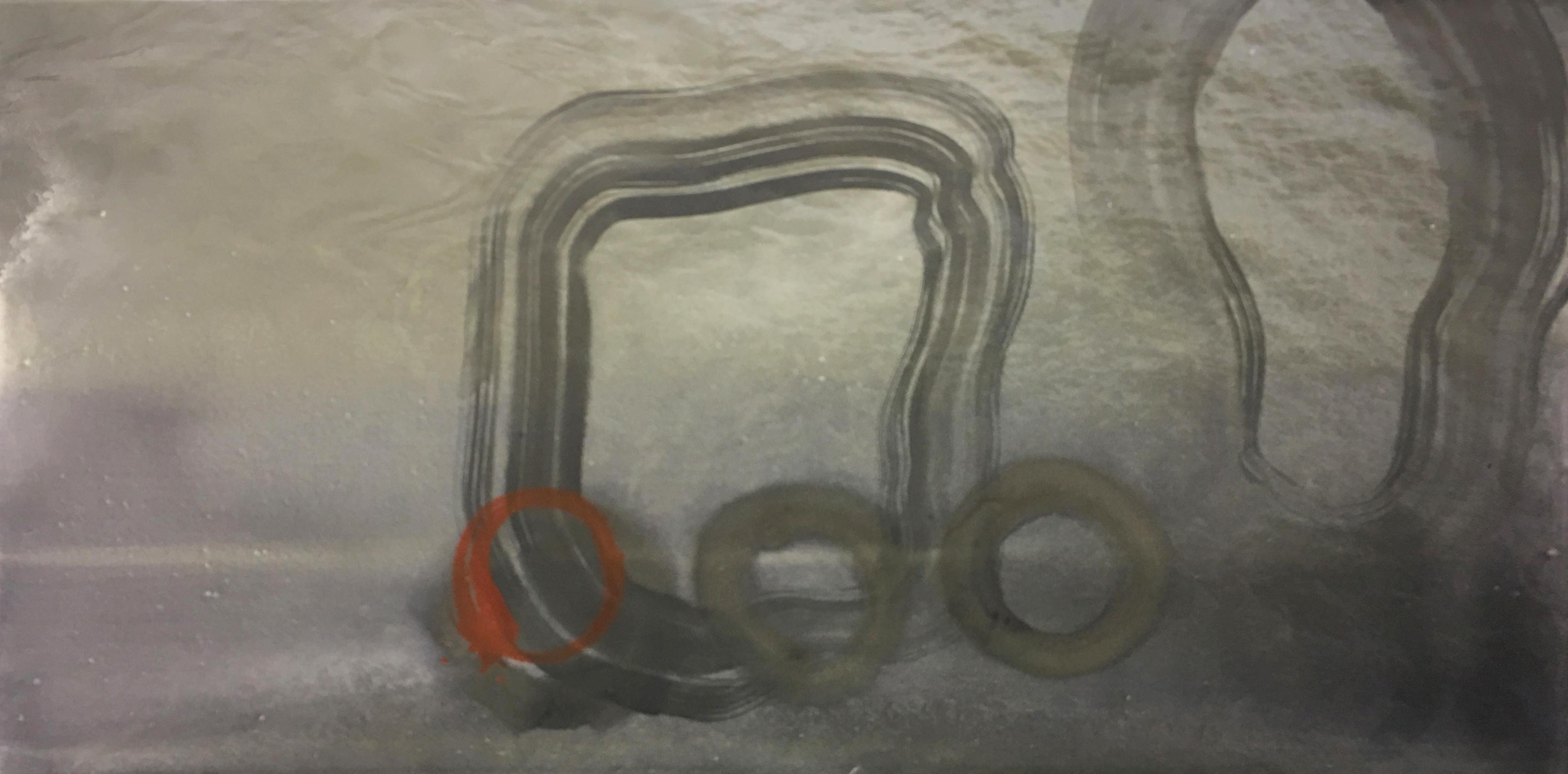 Giclee print and acrylic on canvas 127cm x 63.5cm