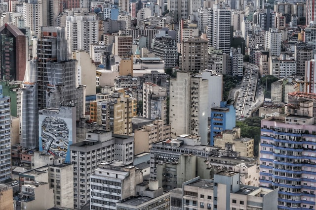 photograph of buildings in sao paulo