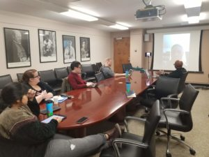 Qiana Whitted joins MSU graduate students for a conversation about comics and pedagogy.