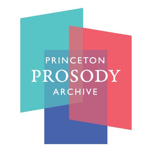 Princeton Prosody Archive