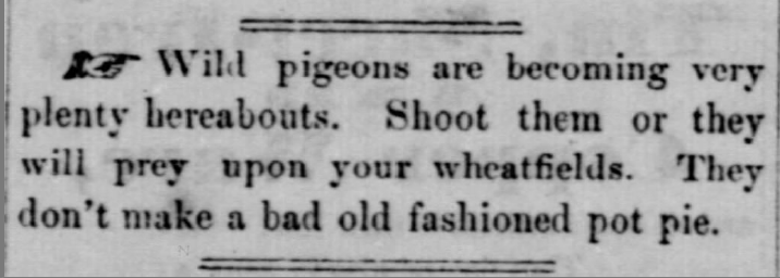 (Marshall County Republican [Plymouth, Indiana], September 10, 1857, pg. 3.)