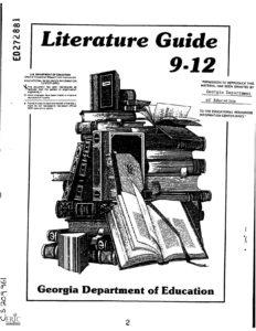 Literature Guide 9-12